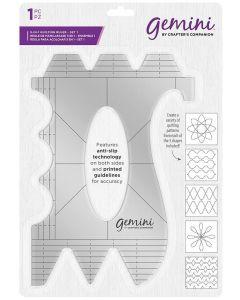Gemini Quilting Pattern Guide - Set 1