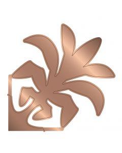 Gemini Multi Media Hawaiian Applique Die - Ti Leaf