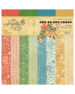 Graphic 45 Joy to the World - 12x12 Patterns & Solid Pad