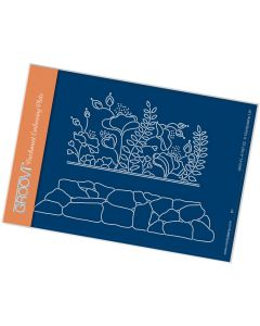 Claritystamp A6 Plate - Lizzy & Rockery