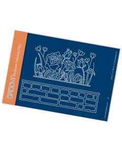 Claritystamp A6 Plate - Rosie & Brick Wall