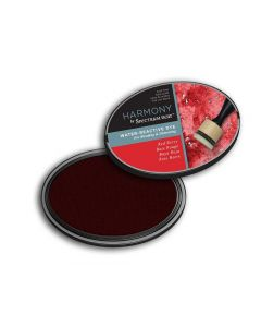Harmony by Spectrum Noir Water Reactive Dye Inkpad - Red Berry