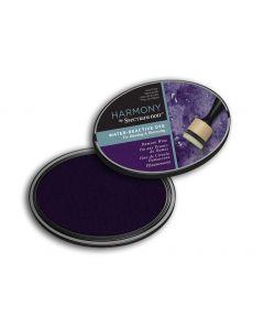 Harmony by Spectrum Noir Water Reactive Dye Inkpad - Damson Wine