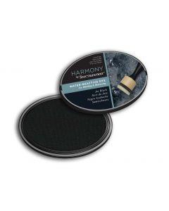 Harmony by Spectrum Noir Water Reactive Dye Inkpad - Jet Black