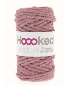 Hoooked Natural Jute Yarn - Tea Rose