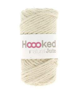 Hoooked Natural Jute Yarn - Vanilla Cream