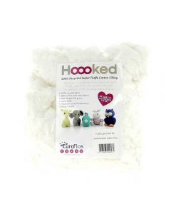 Hoooked Recycled Super Fluffy Cotton Filling - White