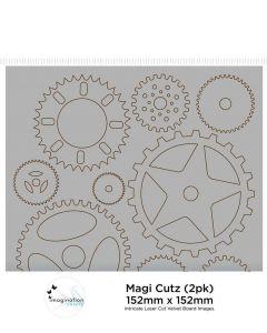 Imagination Crafts Magi Cutz - Cogs