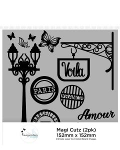 Imagination Crafts Magi Cutz (2 pack) - French Street