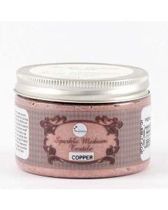 Imagination Crafts Sparkle Medium Textile - Copper
