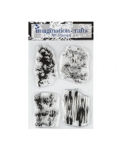 Imagination Crafts Texture Art Stamps - Rockfall