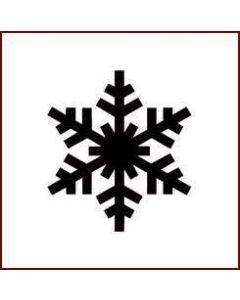 Imagination Crafts Mini Stencil - Mini Snowflake