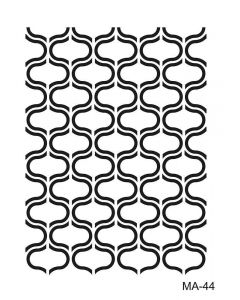Imagination Crafts A4 Art Stencil - Trellis