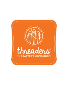 Threaders Fabric Ink Pad - Orange