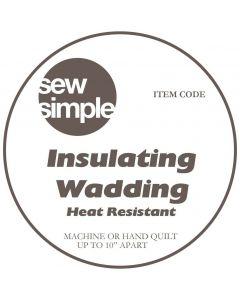 Vilene Medium White Sew-In Interfacing thumb