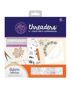 Threaders Embroidery Transfer Sheets - Autumn