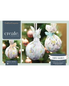 Crafter's Companion Fabric Baubles Kit