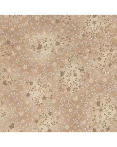 John Louden 100% Flutter Cotton Fabric - Beige