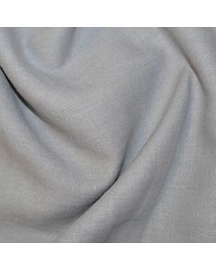 John Louden 100% Washed Linen - Grey