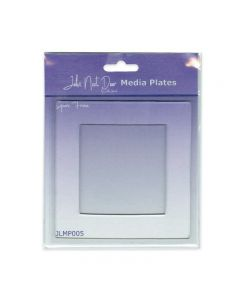 John Next Door Media Plate - Square Frame