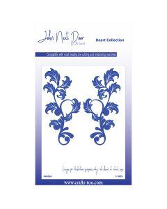 John Next Door Flower Collection - Honesty Flourish (2pcs)
