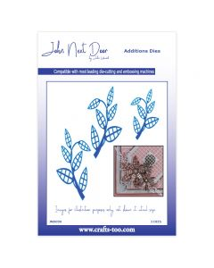 John Next Door Additions Dies - Lattice Leaves (3pcs)