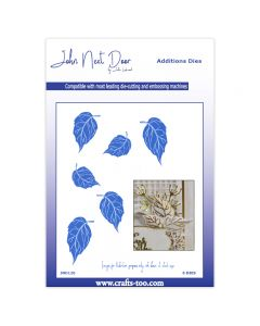 John Next Door Additions Dies - Foil Rose Leaves