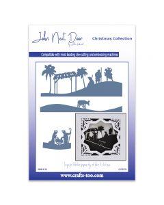 John Next Door Christmas Dies - Nativity Scenes (3pcs)