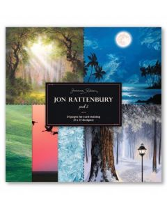 Joanna Sheen Jon Rattenbury 8 x 8 Cardmaking Collection Pad - Pad 2
