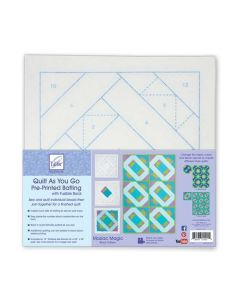 June Tailor Quilt as you go Poly batting series - Mosaic Magic