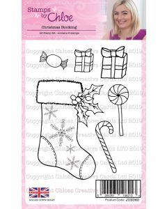 Stamps by Chloe - Christmas Stocking Stamp