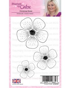 Stamps by Chloe - Christmas Roses Stamps