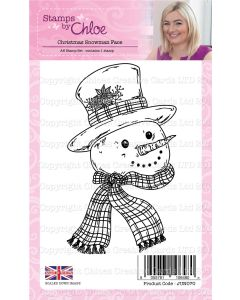 Stamps by Chloe - Christmas Snowman Face Stamp