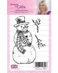 Stamps by Chloe - Christmas Snowman Stamp