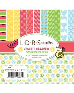 LDRS Sweet Summer 6x6 Paper Pack