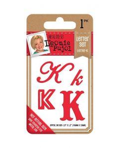 Leonie Pujol Typography Metal Die - Letter Set - K