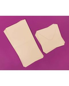 Craft UK 25x 8 X 8 Cards and Envelopes - Ivory