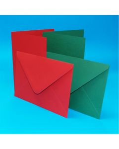 Craft UK Christmas Cards and Envelopes - 5 x 7