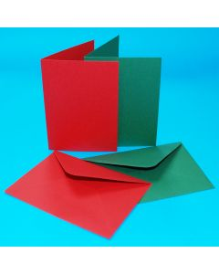 Craft UK Christmas Cards and Envelopes - C6