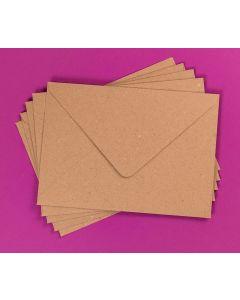 Craft UK Kraft Envelopes pack of 30 - C5