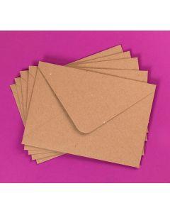 Craft UK Kraft Envelopes pack of 30 - 5x7