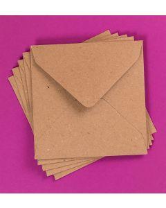 Craft UK Kraft Envelopes pack of 30 - 5x5