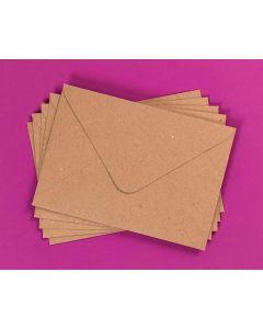 Craft UK Kraft Envelopes pack of 30 - C6