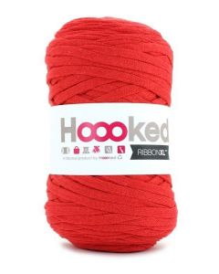 Hoooked RibbonXL Yarn - Lipstick Red