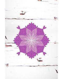 Gemini Mandala Stamp and Die - Cosmic