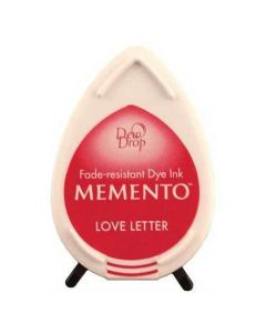 Tsukineko Memento Dew Drop Ink Pad - Love Letter