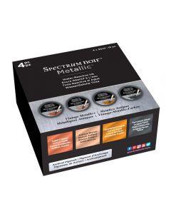 Spectrum Noir Metallic Liquid Ink 30ml (4 pack) - Vintage Metallics