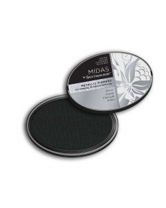Midas by Spectrum Noir Metallic Pigment Inkpad - Silver