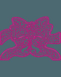 Gemini Create-a-Card Cut on Edge Christmas Metal Die - Festive Bow