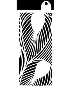 IndigoBlu 6x3 Stencil - Tropical Leaves